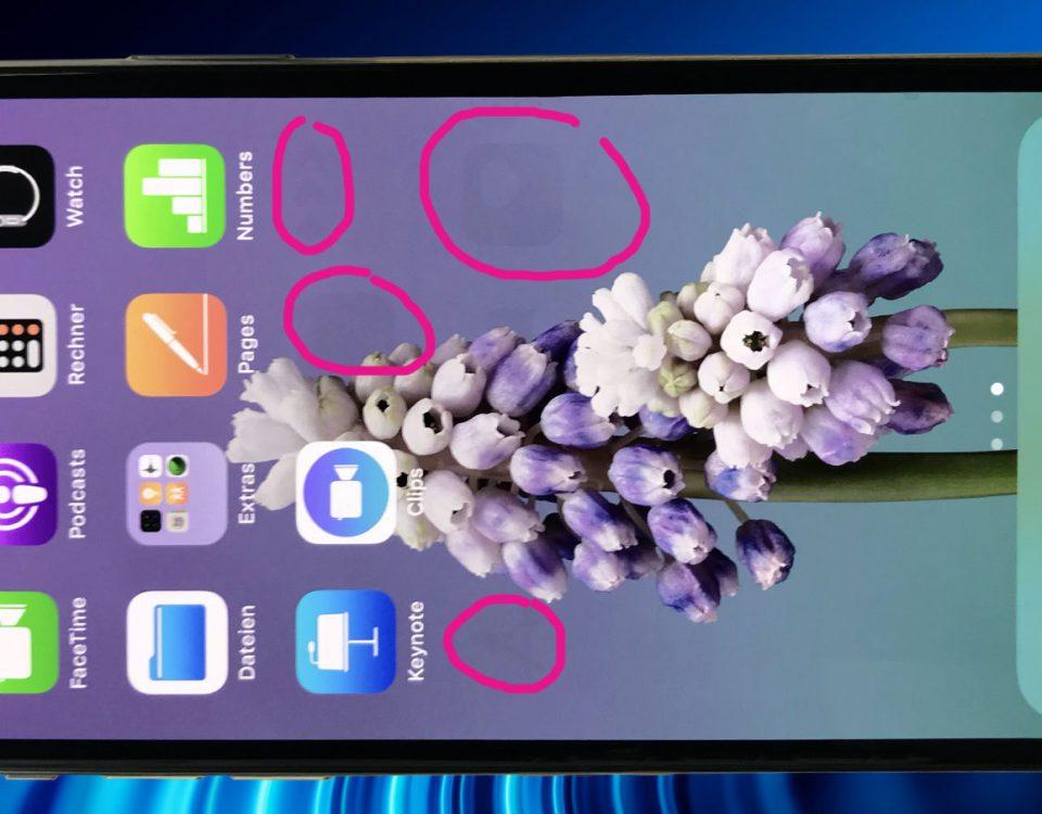 Burn in efekt na iPhone uredaju