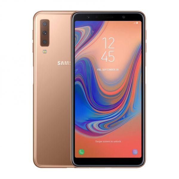SAMSUNG GALAXY A7 (2018) zlatni